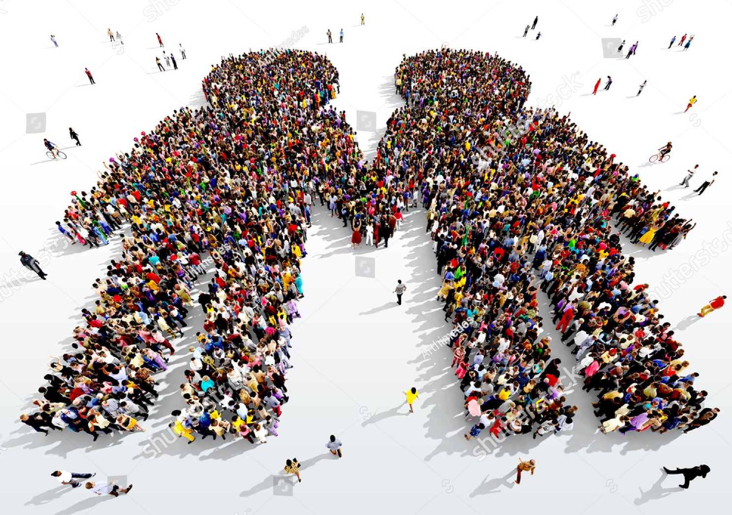 stock-photo-large-and-diverse-group-of-people-seen-from-above-gathered-together-in-the-shape-of-two-people-457376863